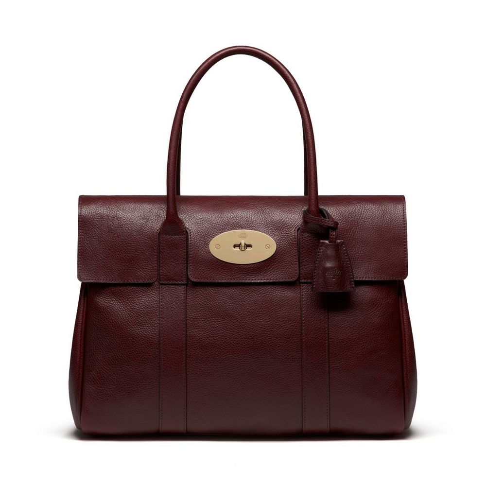 Heritage bayswater oxblood natural leather women for The bayswater