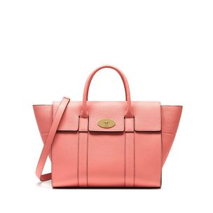 bayswater-with-strap-macaroon-pink-small-classic-grain