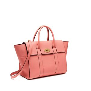 bayswater-with-strap-macaroon-pink-small-classic-grain ... ca95c59d5b50b