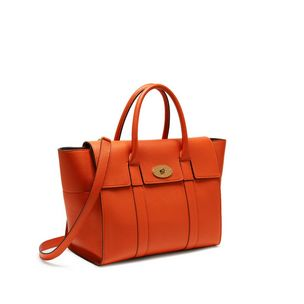 bayswater-with-strap-bright-orange-small-classic-grain