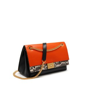 cheyne-bright-orange-black-smooth-calf-with-natural-snakeskin