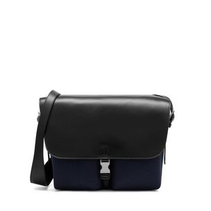 welbeck-messenger-midnight-herringbone-canvas-flat-calf