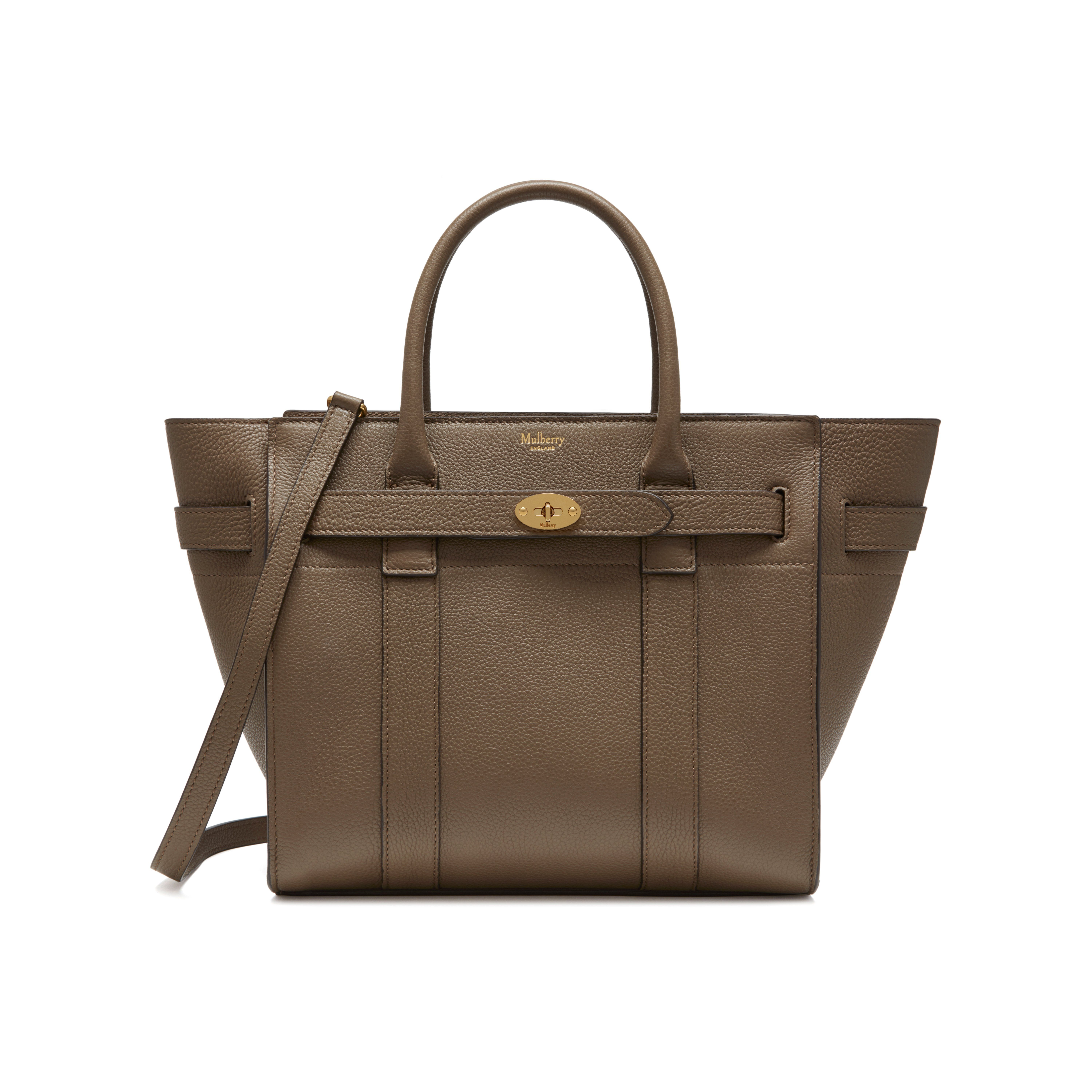 c4979dc4fff Small Zipped Bayswater | Clay Small Classic Grain | Women | Mulberry