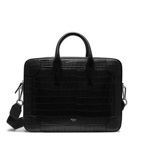 belgrave-single-document-holder-black-deep-embossed-croc