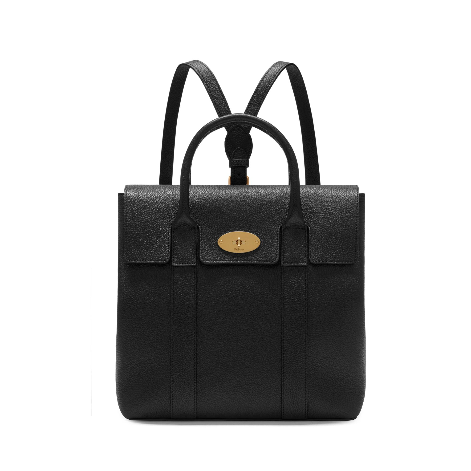 bayswater-backpack-black-small-classic-grain
