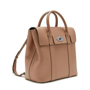 bayswater-backpack-blush-small-classic-grain