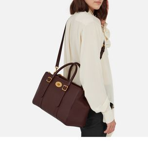 bayswater-double-zip-tote-oxblood-small-classic-grain