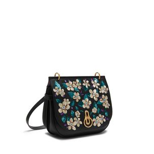 amberley-satchel-black-flower-embroidery-small-classic-grain