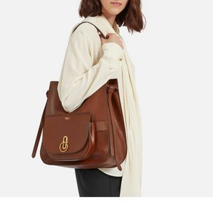 0caa3911a1 Amberley Hobo. Oak Natural Grain Leather