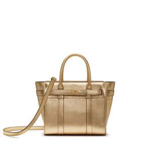 mini-zipped-bayswater-gold-metallic-printed-goat