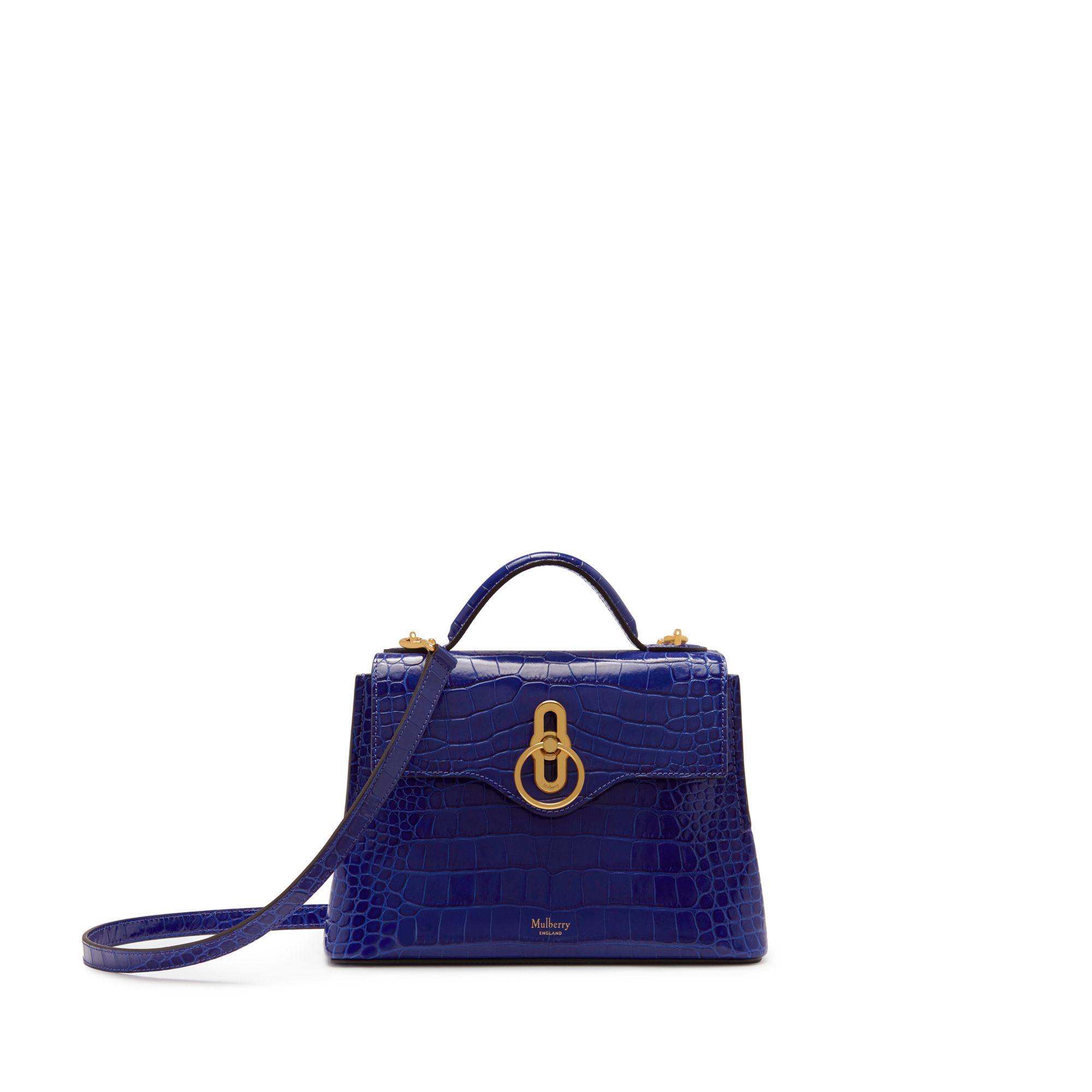 In Love Top Handle Denim Shoulder Bag