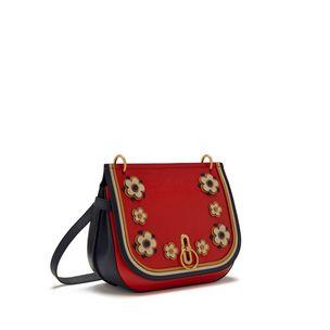 d528c5809578 amberley-satchel-hibiscus-red-silky-calf-geo-floral- Amberley Satchel