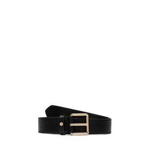 30mm-belt-black-deep-embossed-croc-print-front