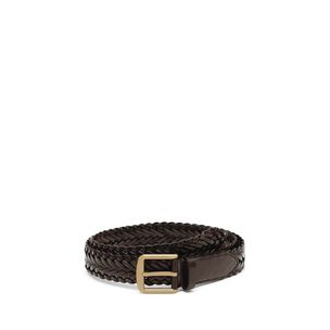 double-plait-braided-belt-chocolate-brass-metal