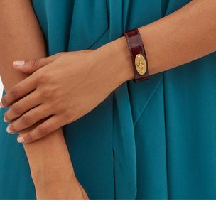 bayswater-leather-bracelet-burgundy-croc-print