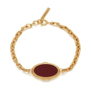locket-bracelet-burgundy-brass-metal-with-burgundy-enamel-resin