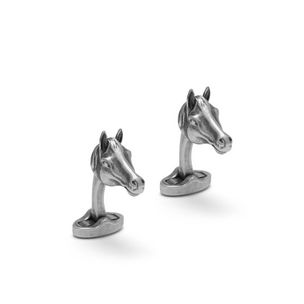 horse-cufflinks-antique-silver-metal