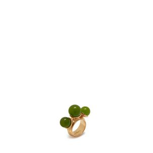 beads-ring-green-cross-grain-leather