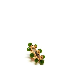 beads-oval-ring-green-green-glass-beads-brass