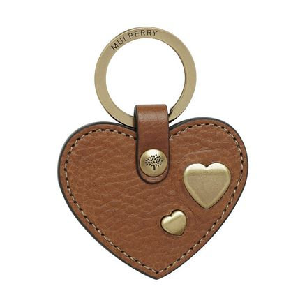 Heart Rivet Keyring