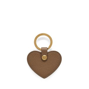 heart-keyring-dark-beige-small-classic-grain