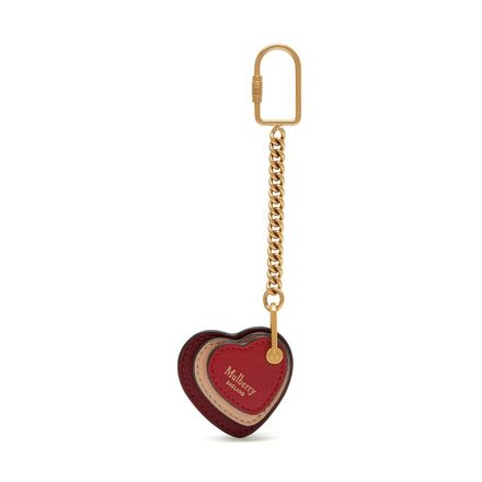 Heart Leather Keyring  7263b3a7d845
