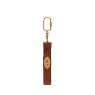 looped-darley-keyring-oak-natural-grain-leather