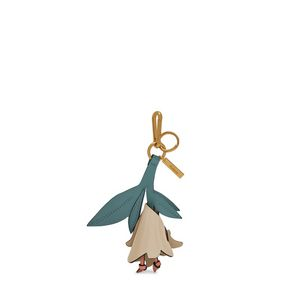 lily-flower-keyring-chalk-antique-blue-blush-smooth-calf