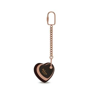 heart-keyring-burgundy-rose-gold-dark-clay-nappa-with-metal