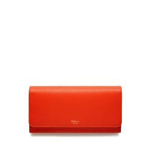 continental-wallet-bright-orange-small-classic-grain