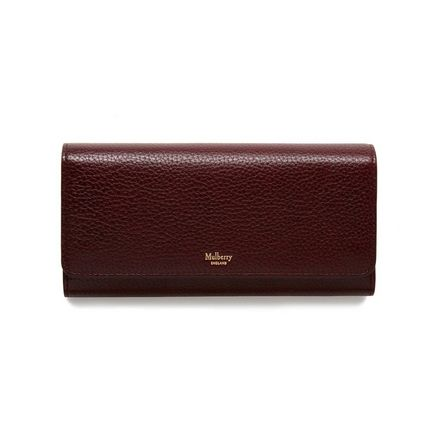 bf403294a6 ... amazon continental wallet oxblood natural grain leather family mulberry  b0567 369bf