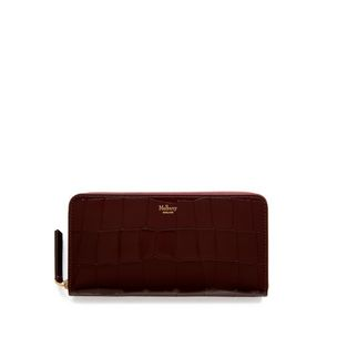 8-card-zip-around-wallet-burgundy-polished-embossed-croc