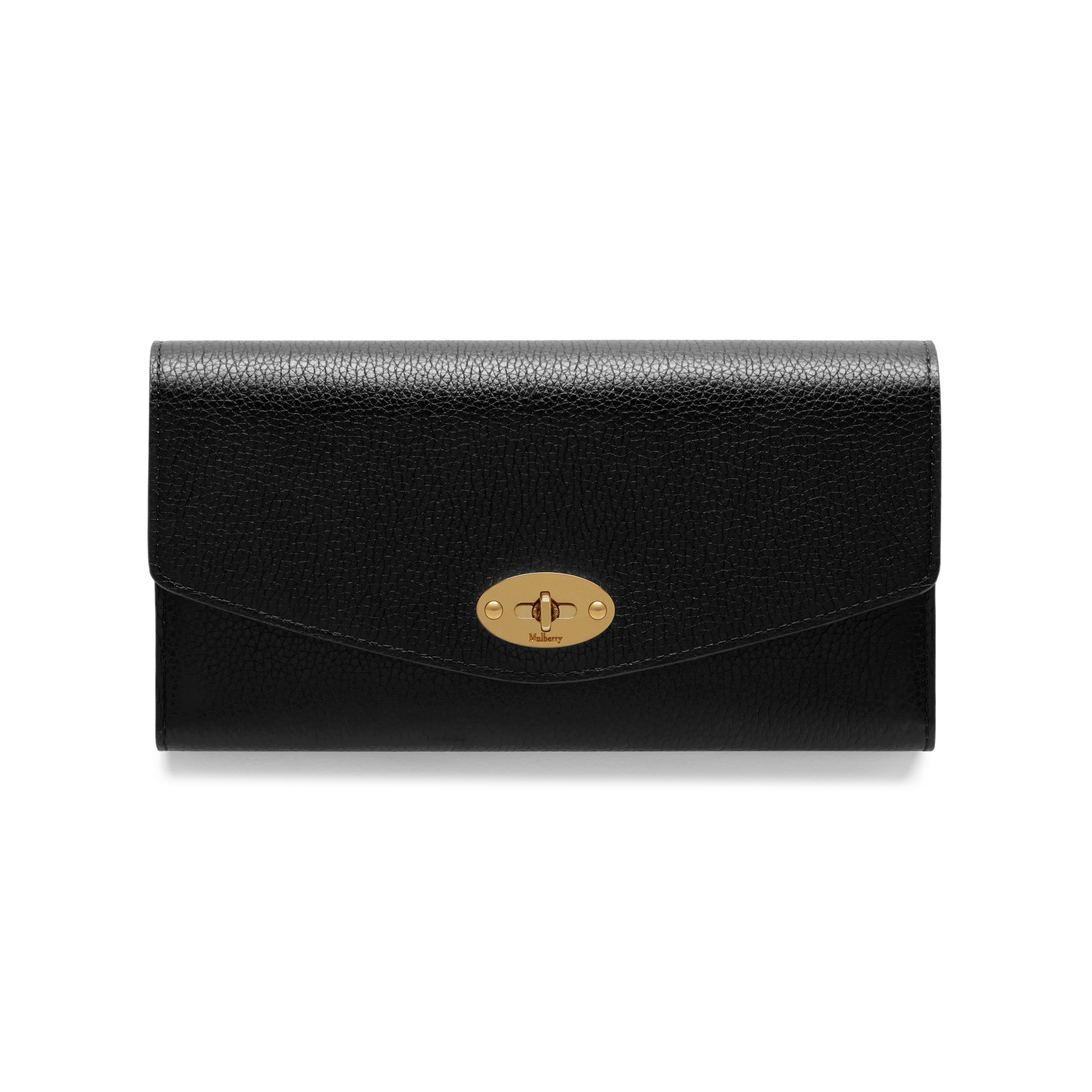 84a7fc27c6 Darley Wallet | Black Small Classic Grain | Women | Mulberry