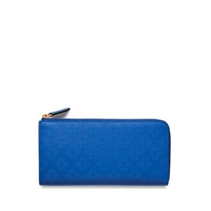 long-part-zip-wallet-porcelain-blue-debossed-tree