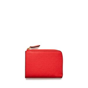 part-zip-coin-pouch-fiery-red-debossed-tree