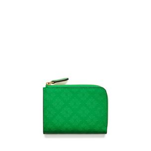 part-zip-coin-pouch-grass-green-debossed-tree