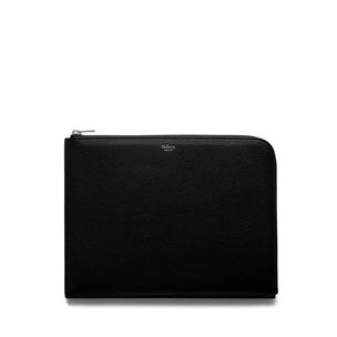 tech-pouch-black-small-classic-grain