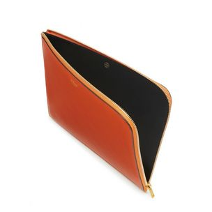 tech-pouch-bright-orange-small-classic-grain