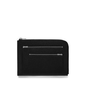 travel-pouch-black-small-classic-grain