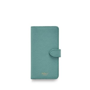 iphone-flip-case-antique-blue-cross-grain-leather