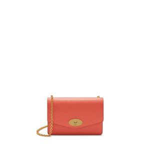 6a3c82912d Small Darley. Coral Rose Cross Grain Leather