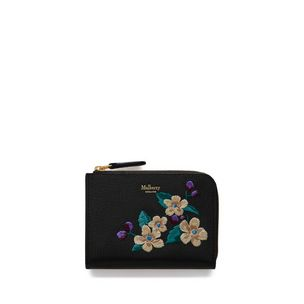 part-zip-coin-pouch-black-flower-embroidery-small-classic-grain