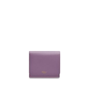 small-continental-french-purse-lilac-cross-grain-leather