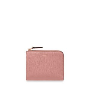 part-zip-coin-pouch-pink-peony-small-classic-grain