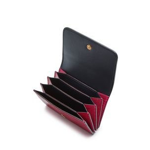 faf4077971 continental-card-holder-deep-pink-embossed-lizard ...