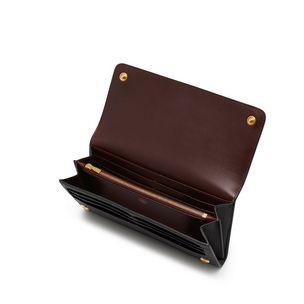 e0df4c84cc mulberry-plaque-long-wallet-black-small-classic-grain ...
