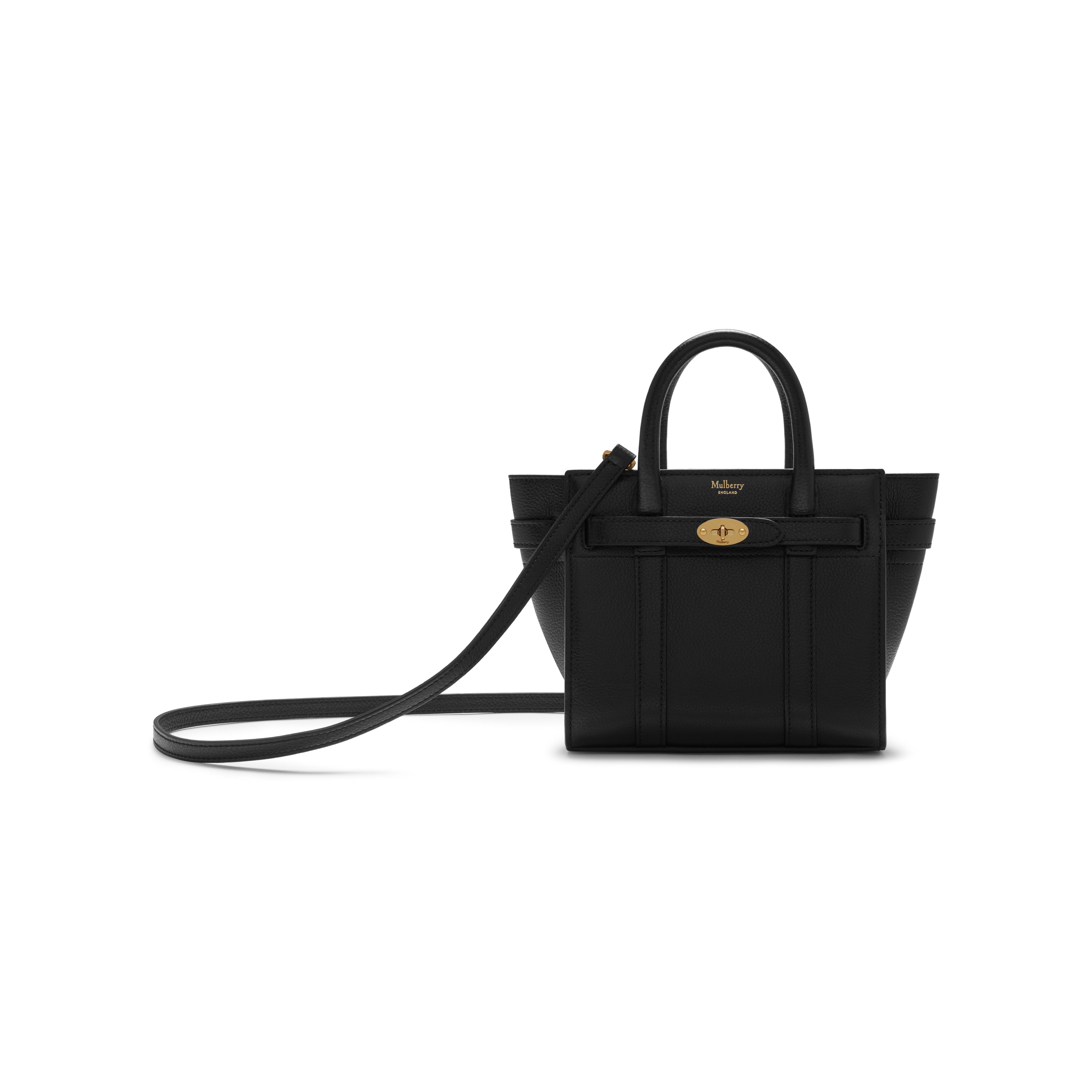 768f07eae0bd Micro Zipped Bayswater Black Small Classic Grain