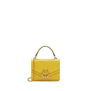 small-harlow-satchel-citrus-yellow-croc-print Small Harlow Satchel bed446d2e2f2a