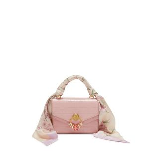 ... Small Harlow Satchel with Scarf 97a8cae78027f