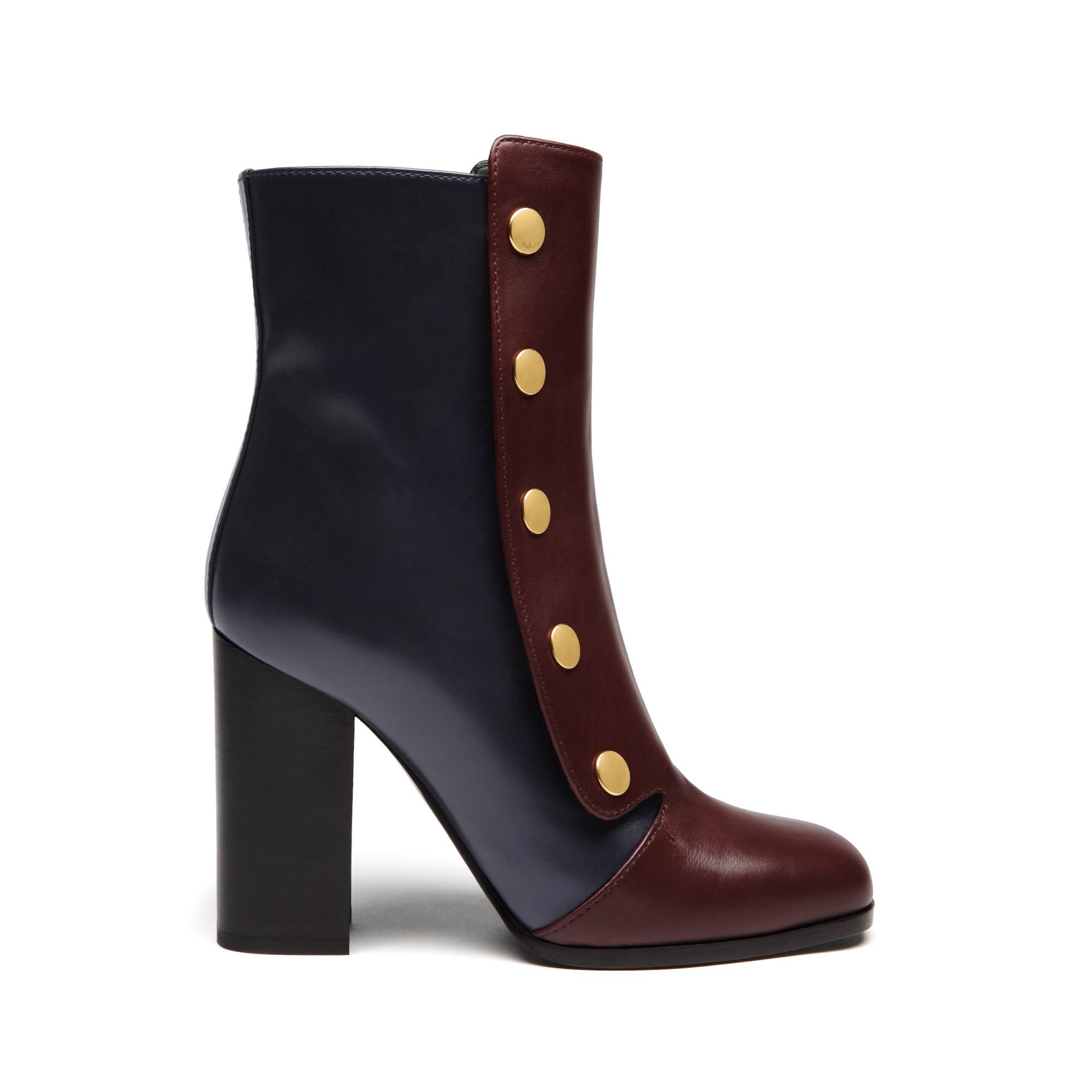 MULBERRY Leather Boots Discount Big Discount abW7xCY